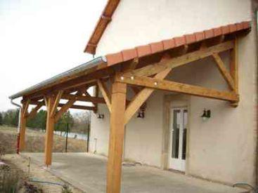 Excellent Awesome Charpente En Meuse Auvent Pour Couverture Terrasse Etain  With Auvent Pour Terrasse De Maison With Couverture Terrasse